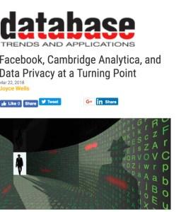 Database Trends 032218