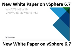 Whats New in VSphere 6.7 White Paper