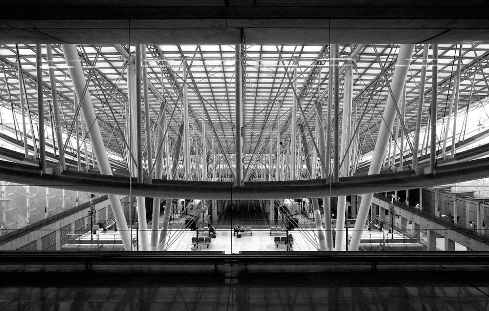 Fine Art Photography Michael David Adams Photographer Limited Edition Travel Charles Du Gaulle architecture