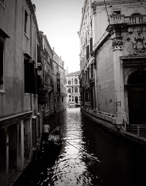Venice Italy Limited Edition Photography Michael David Adams Photographer gondola canal