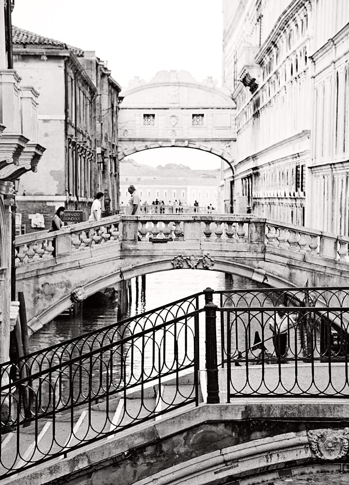 Venice Italy Limited Edition Photography Michael David Adams Photographer bridge of sighs