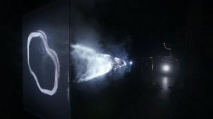 "Push 1 stop & Wiklow - ""Membrane"". Photo credit: Sébastien Roy"