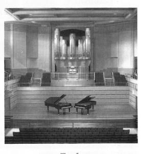 Newcastle Conservatorium Concert Hall