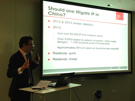 Should you litigate IP in China?