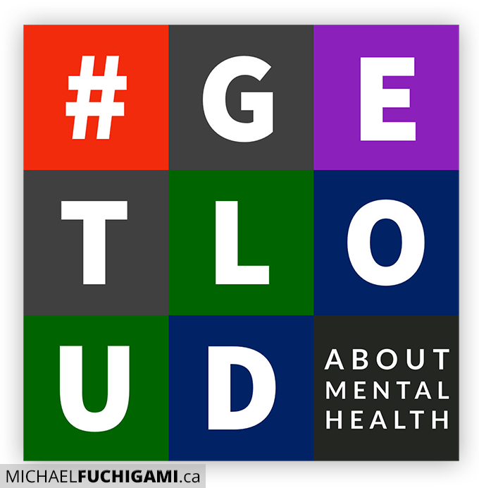 #GET LOUD about mental health instagram cover