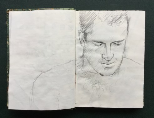 Sketchbook, Andreas, 1991