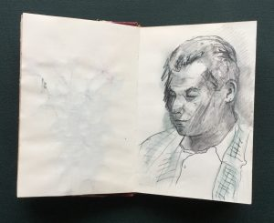 Sketchbook, Roberto, 1987