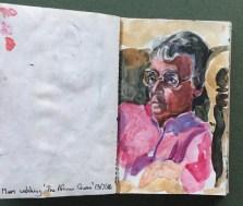 Sketchbook, Mum, 1986