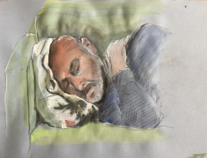Mark - sleeping, 2019