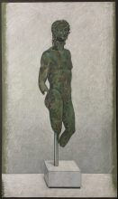 Roman Bronze Statue of a Young Man,
