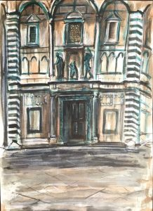 The Baptistery, Florence,1987