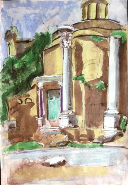 The Forum, Rome, 1987