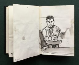 Sketchbook, June, 1986