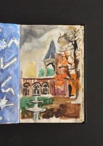 Sketchbook - Holland Park, 1986