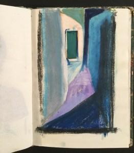Alleyway, Moonlight, Ischia, 1997