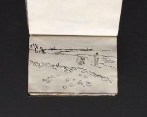 Sketchbook - Brighton ,1986