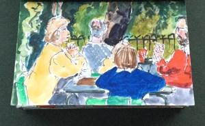 Sketchbook - Kensington Park, London, 1986