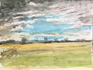 Cambridgeshire Landscape, 1990's (?)