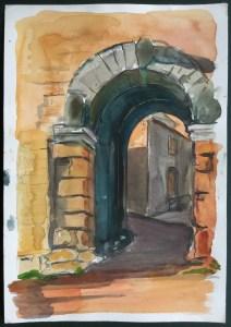 Archway, Umbria, 2000