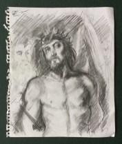 """Rubens, """"Ecce Homo"""" (detail), Hermitage Museum, St Petersburg, 1989"""