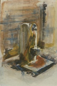 Water Fountain II, Rome, Private Collection