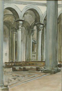 Santo Spirito, Florence, 1987, Private Collection