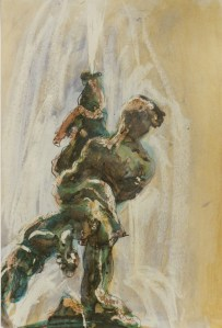 Fountain of the Naiads, Rome, 1987, Private Collection