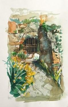 Ruin, Nonzu, Corsica, 2003