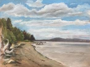 Beach, Penobscot Bay, 2010
