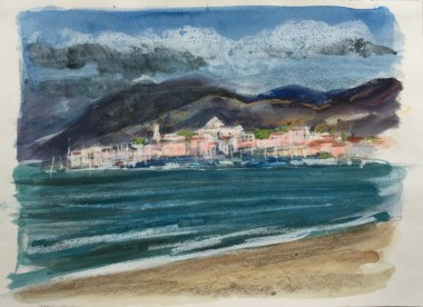 Saint-Florent, After a Storm, 2007