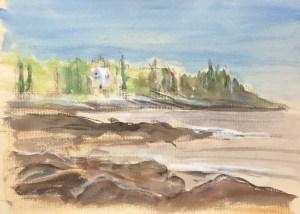 LaVerna Preserve Coastline, 2015