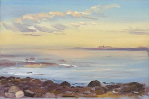 Early Morning, Johns Bay, Pemaquid, 2015