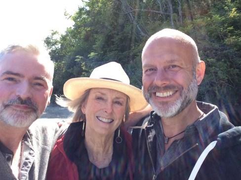 Michael, Elisabeth & Mark, June, 2016