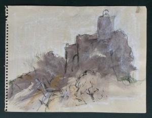 Ruin in the Mist, Gaucin, October, 2003