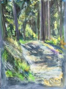 Driveway, Phoenix Nest, Lunchtime, 2013, Fairfield University Art Museum,
