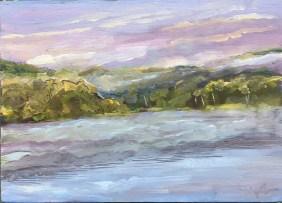 Upton Lake, Dawn, September 8th, 2019