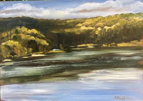 Upton Lake, Noon, September 8th, 2019