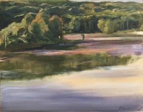 Early Morning, Upton Lake, September 2nd, 2017