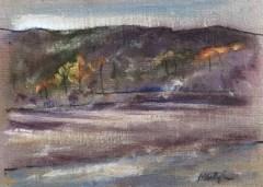 Upton Lake, Morning Mist, October 19th, 2019