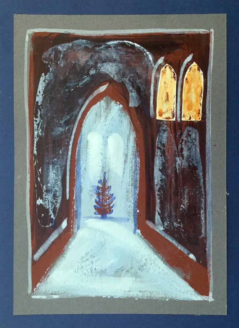 Christmas Card - late 1980's