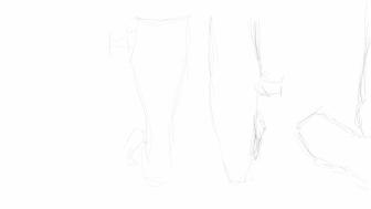 Movie line sketch: boots