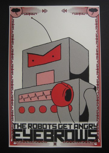 The Robots Get Angry Eyebrows
