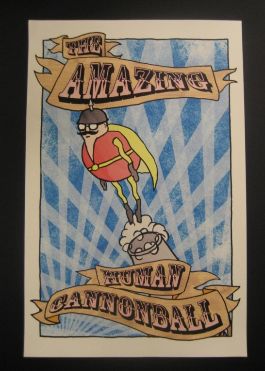 The Amazing Human Cannonball