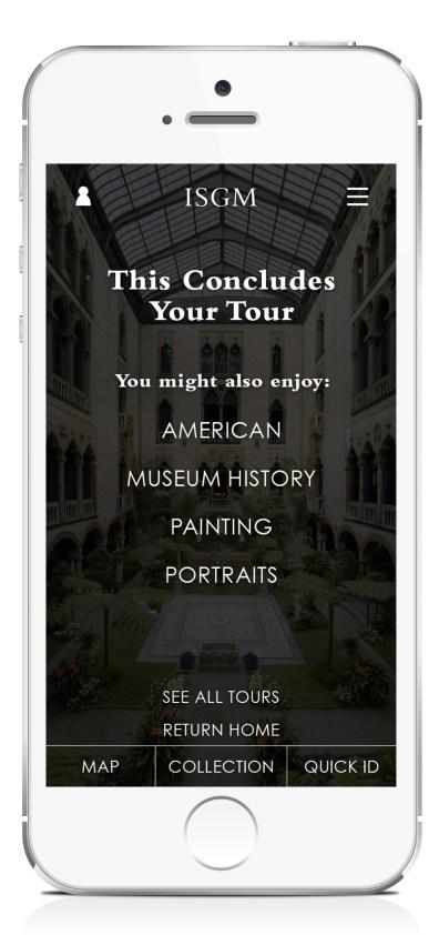 Tour Conclusion