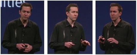Scott Forstall präsentiert auf der WWDC