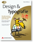 Buchcover: Robin Williams – Design und Typografie