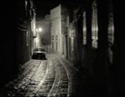 Szene aus einem Kriminalfilm