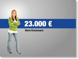 Nachher 5: Maria Kreutzmann: 23.000€