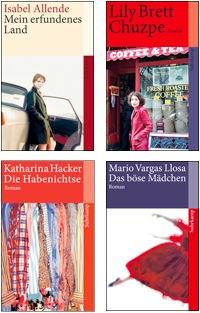 Beispiele von Suhrkamp-Taschenbüchern