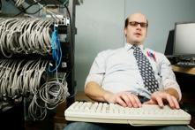 Typischer Systemadministrator